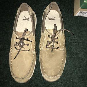 NIB Clarks Boat Shoes